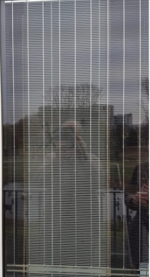 Transparent glass PV panel, This panel is less efficient and has a different design. It cannot be developed in large measures.